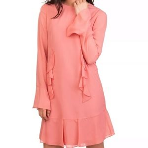 NWT Authentic Moschino Silk Ruffle Dress